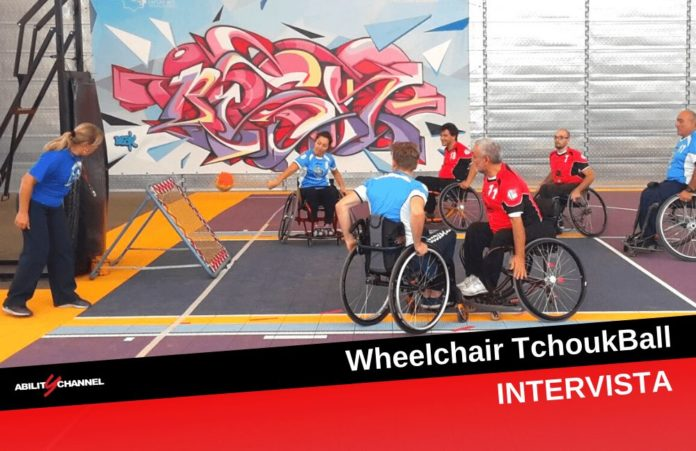 Wheelchair TchoukBall intervista sport paralimpico ability channel