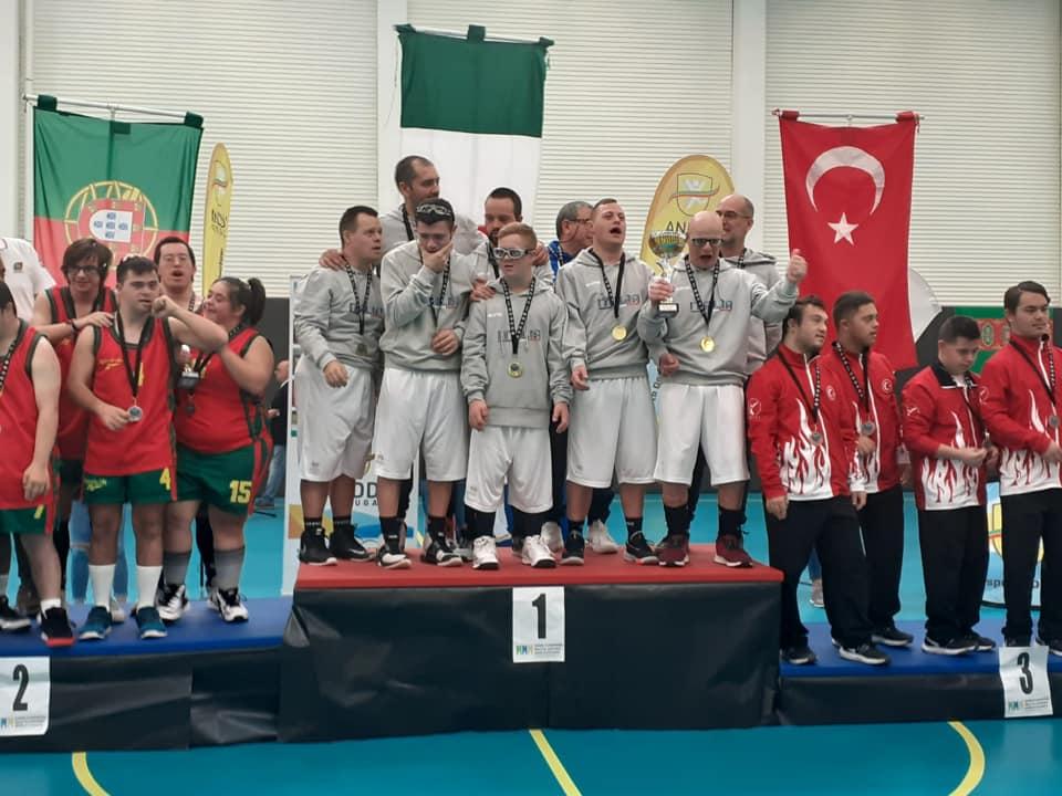 basket italia sindrome di down campione del mondo