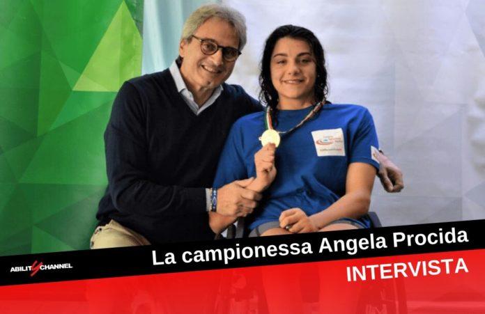 campionessa di nuoto paralimpico Angela Procida Ability Channel