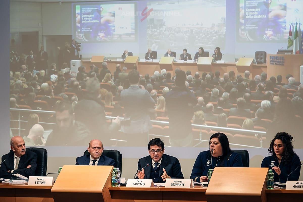 la conferenza stampa del rapporto istat e disabilità ability channel