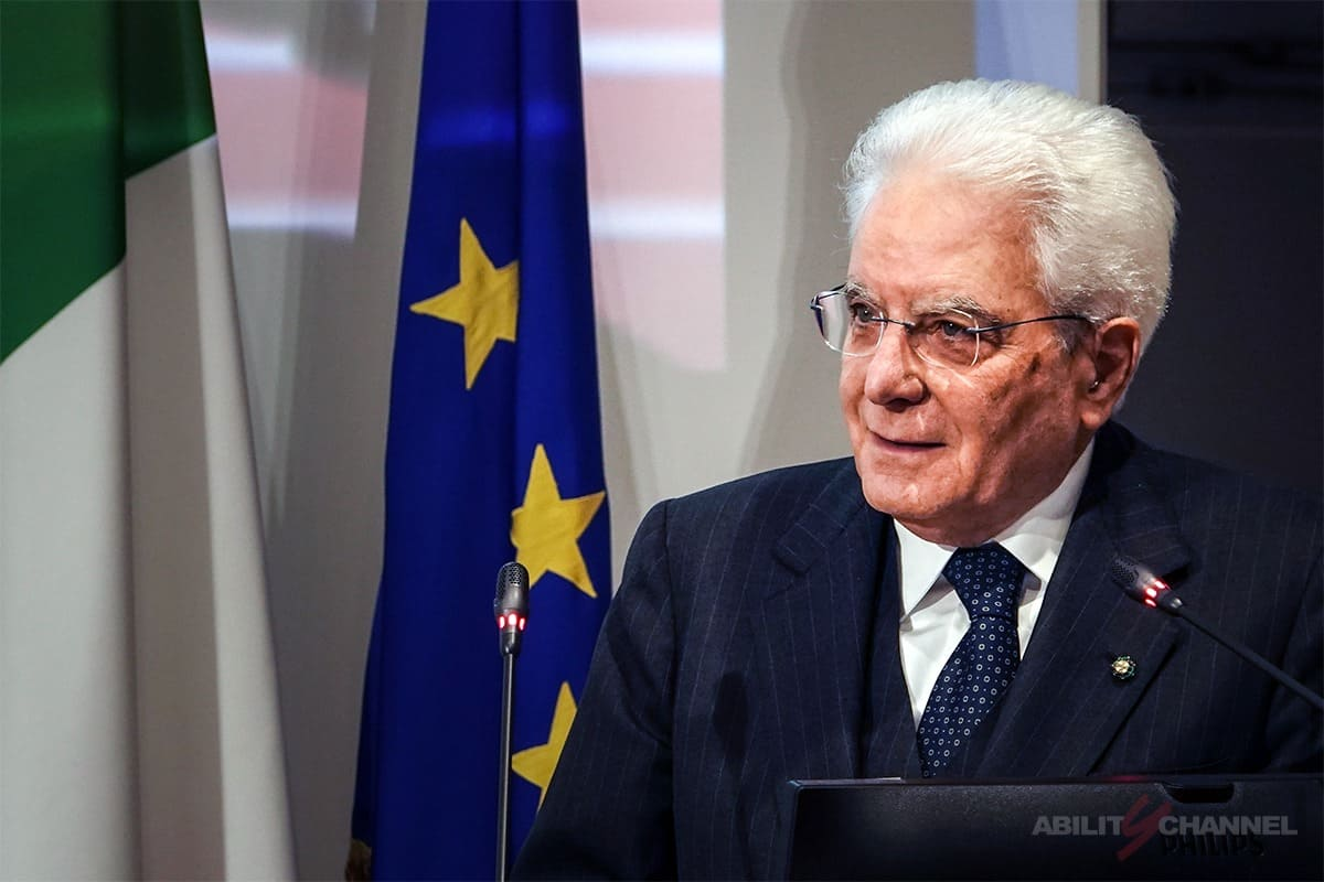 sergio mattarella rapporto istat e disabilità ability channel