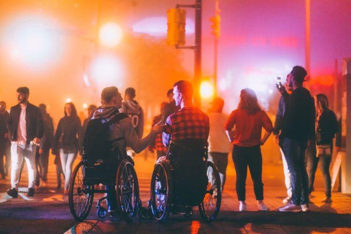 disabili ai concerti all'aperto in Italia
