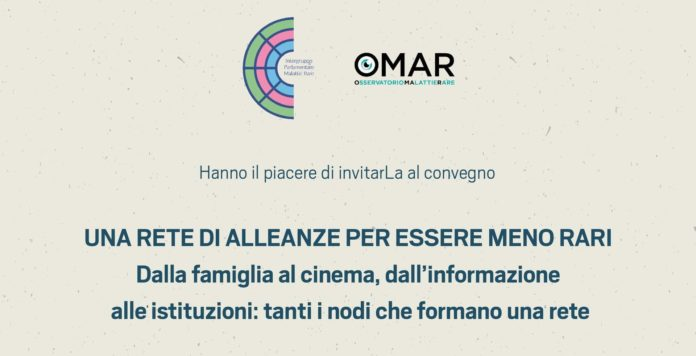 omar news omar convegno roma ability channel omar osservatorio malattie rare