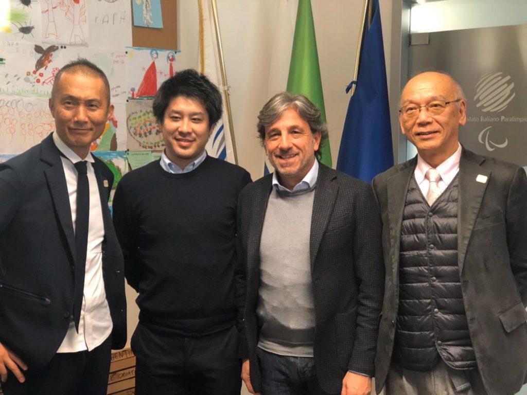 paralimpici comitato giapponese studia il CIP ability channel
