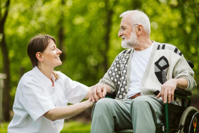 paziente con malattia di alzheimer