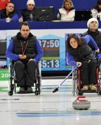 curling in carrozzina fisg
