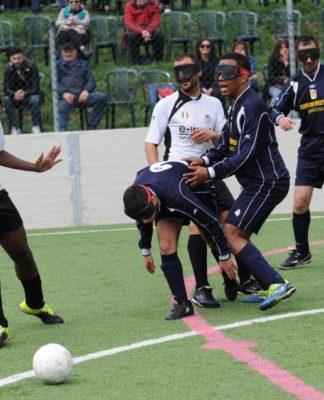 futsal calcio per ciechi