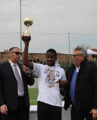 futsal calcio ciechi paul iyobo