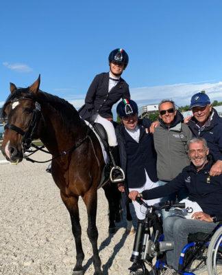 para-dressage equestrian italia