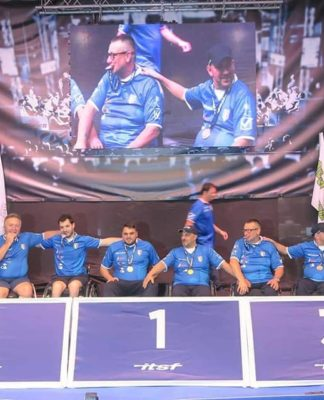 calcio balilla podio mondiali