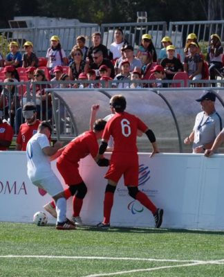 futsal calcio per ciechi torneo