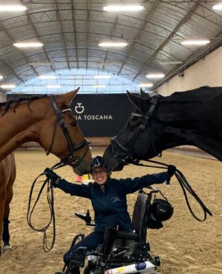 para-dressage sara morganti cavalli