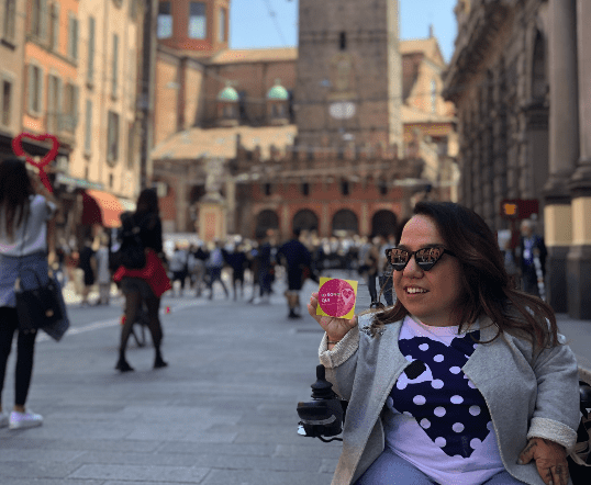 Guida disabili, il progetto turistico di Valentina Tomirotti ability channel (2)