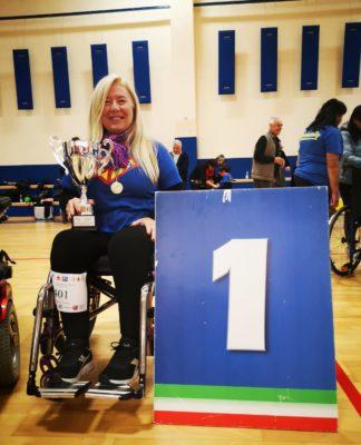 boccia paralimpica trofeo