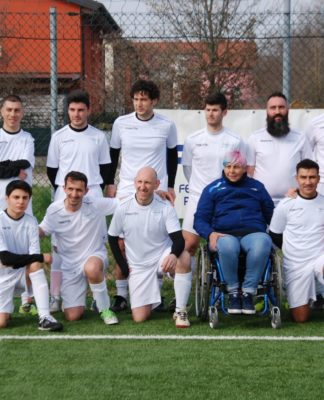 calcio disabili squadra