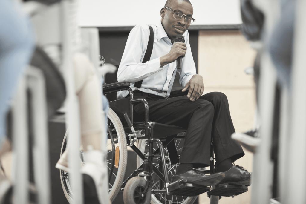 disabile avente diritto alla legge 104