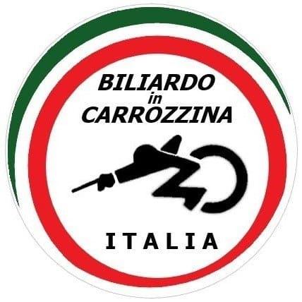 wheelchair biliard italia logo ufficiale