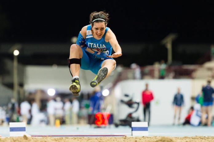 Francesca Cipelli in gara prima di Tokyo 2020
