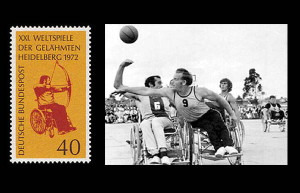 Storia Paralimpiadi Heidelberg 1972 tre