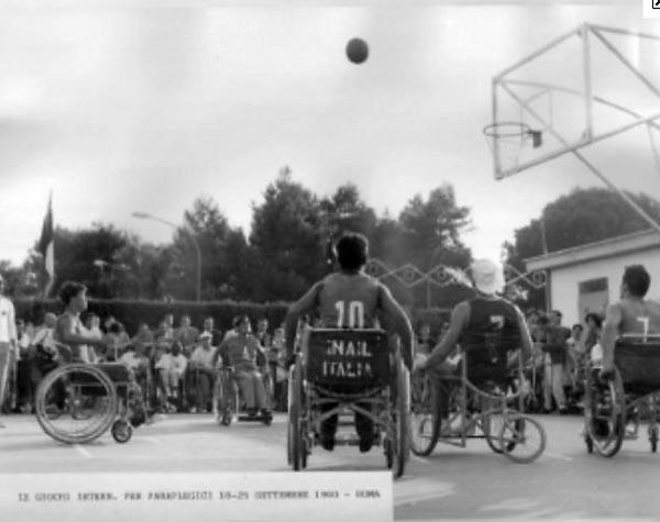 Storia Paralimpiadi Roma 1960 tre