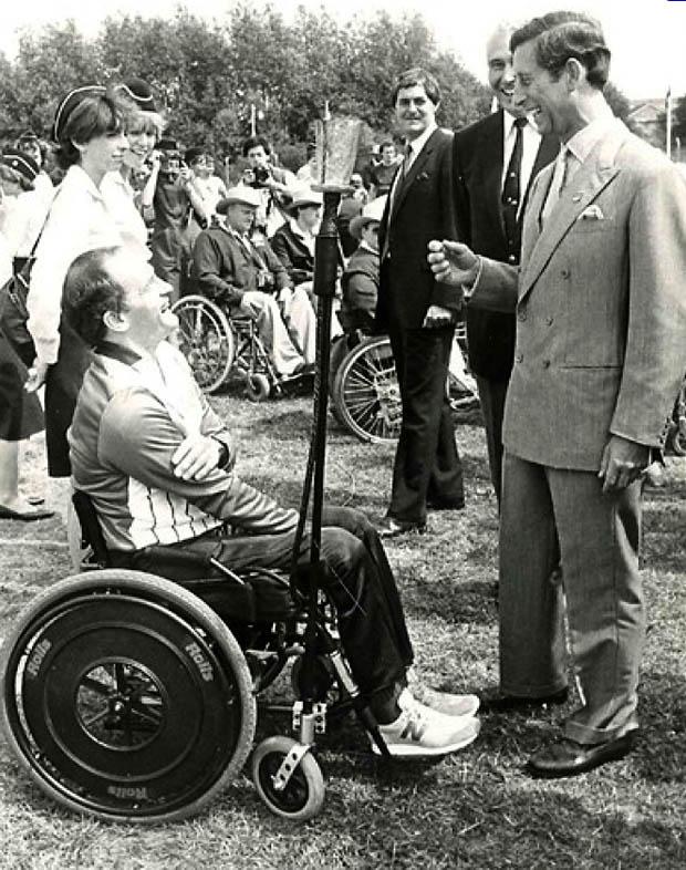 Storia delle Paralimpiadi- Stoke Mandeville e New York 1984 Principe Carlo
