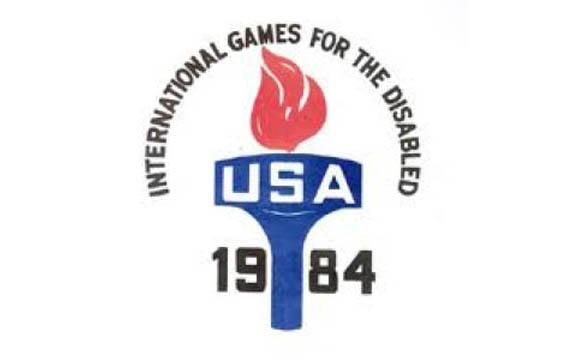 Storia delle Paralimpiadi- Stoke Mndeville e New York 1984 logo