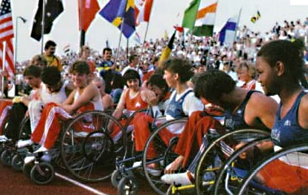 Storia delle Paralimpiadi- Stoke Mndeville e New York 1984 uno