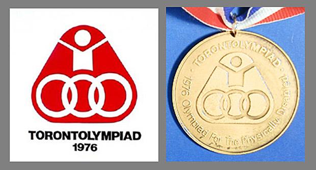 Storia delle Paralimpiadi Toronto 1976 medaglia