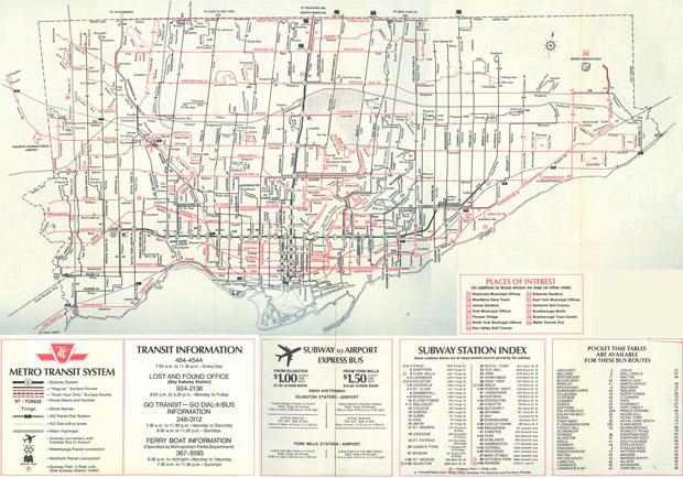 Storia delle Paralimpiadi Toronto 1976 piantina