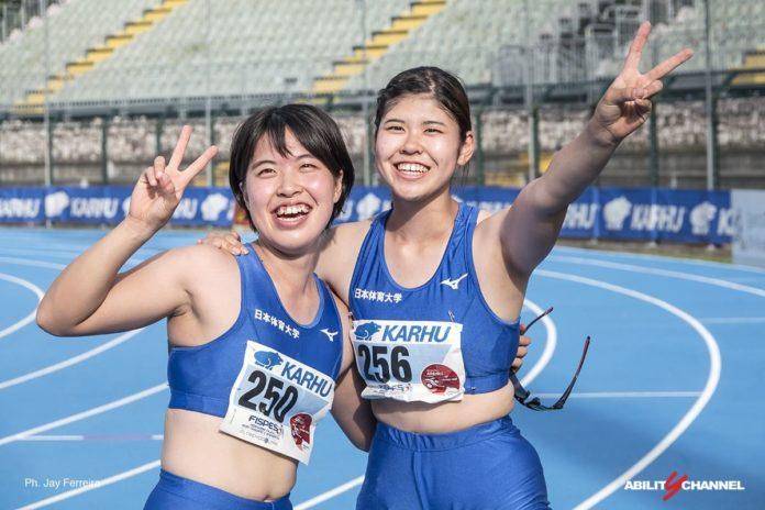 atlete festeggiano per tokyo 2020