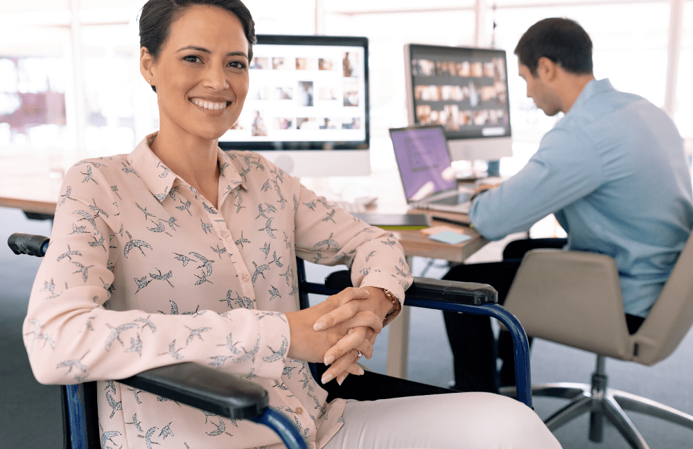lavoratrice disabile assunta in azienda
