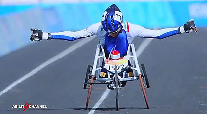 Paralimpiadi Atene 2004 Alvise De Vidi