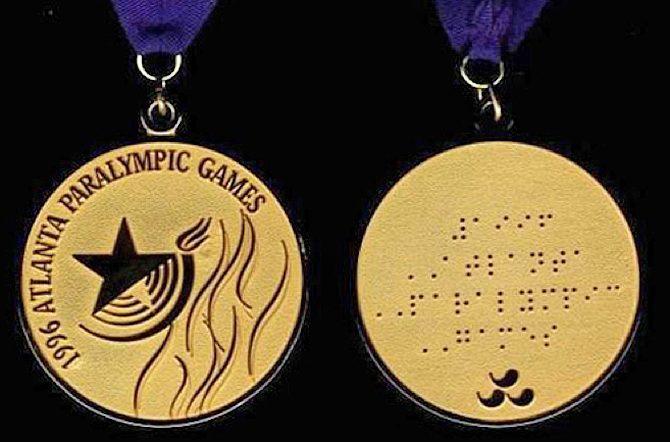 Storia delle Paralimpiadi Atlanta 1996 medaglie