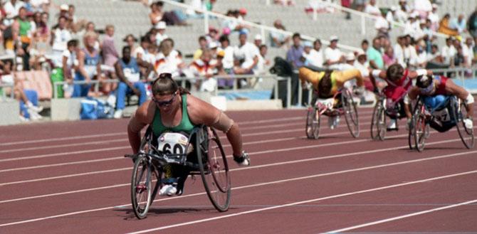 Storia delle Paralimpiadi Barcellona 1992 gara
