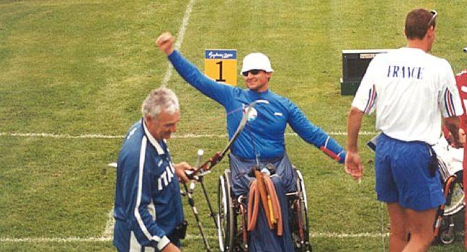 Storia delle Paralimpiadi Sydney 2000 atleta