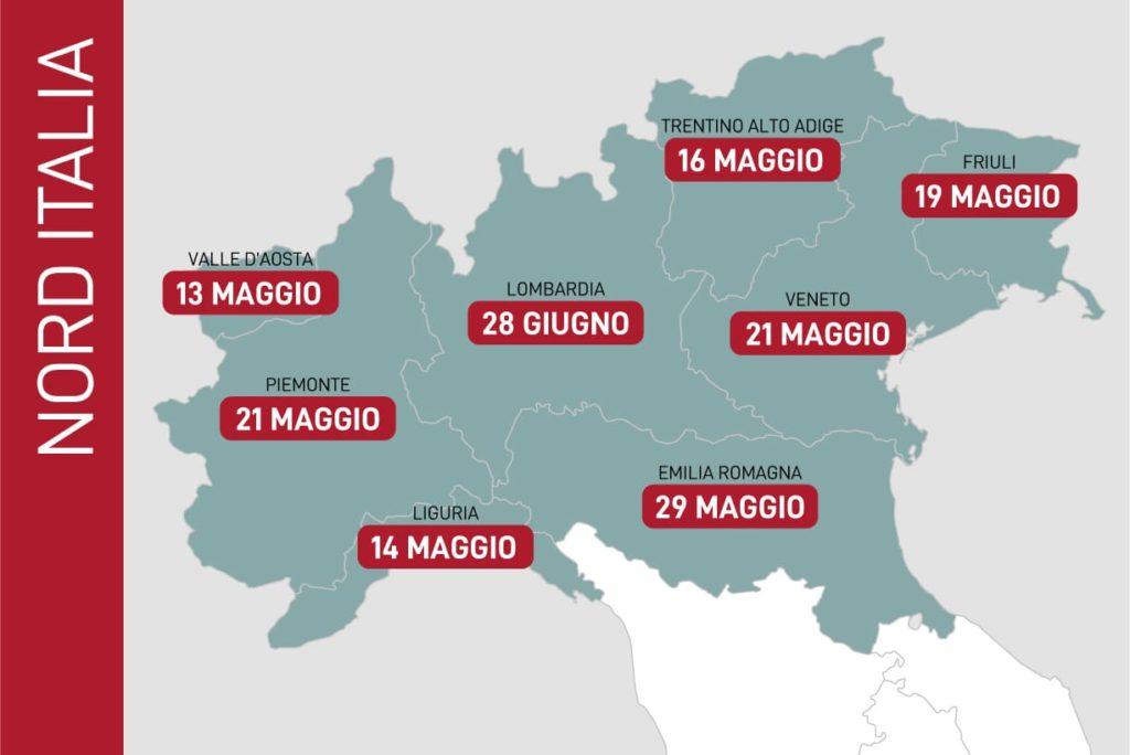 fine emergenza coronavirus in nord italia