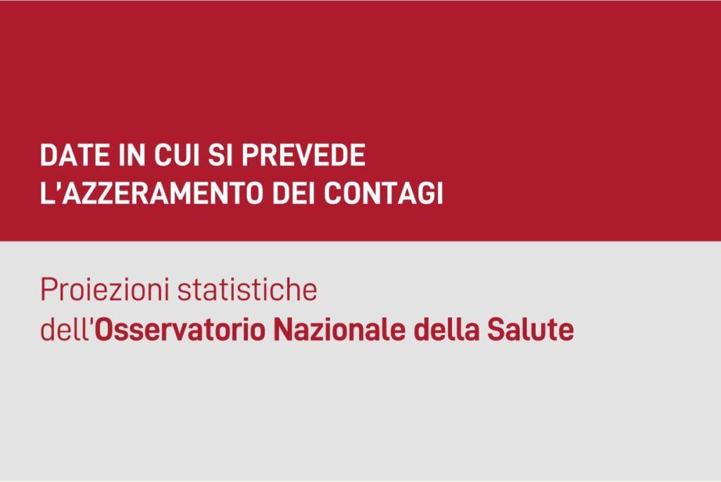 fine emergenza coronavirus per osservatorio nazionale della salute
