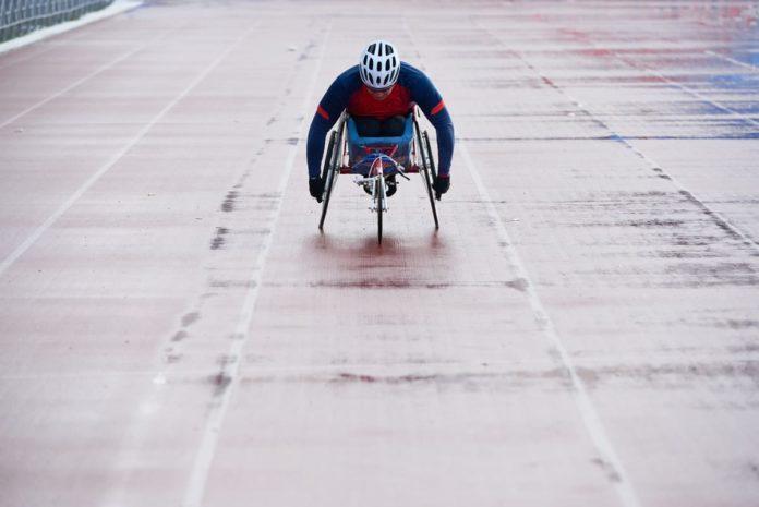atleta si prepara per Tokyo 2020