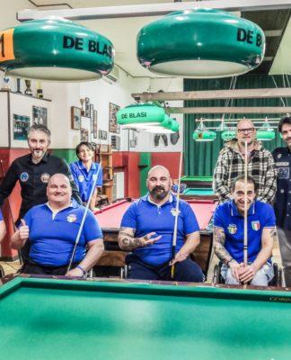 wheelchair biliard team