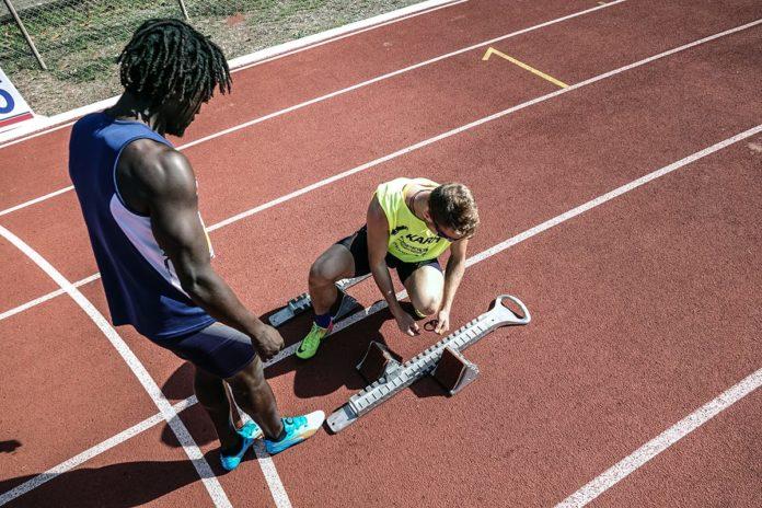 atleti di atletica paralimpica