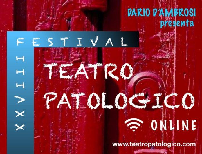 locandina 28esima edizione festival teatro patologico