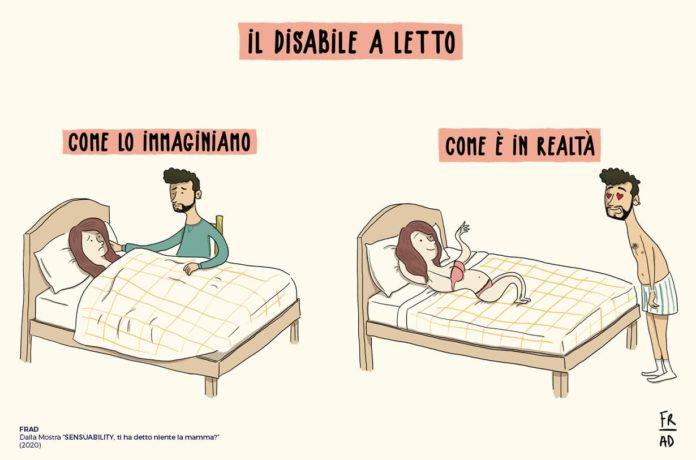 come vedi il disabile