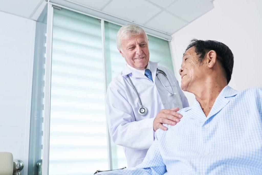 lavoratore dal medico curante