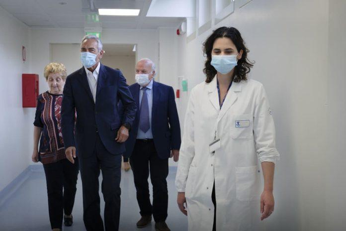 visita FIGC a Ospedale Bambin Gesù