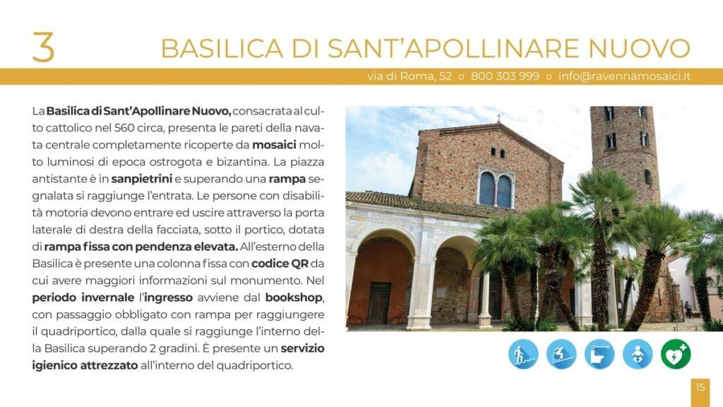 basilica ravenna per tutti turismo accessibile