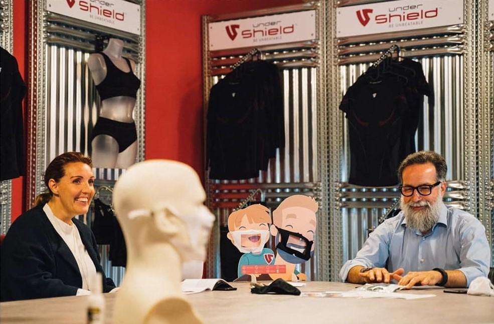 creatori mascherine trasparenti