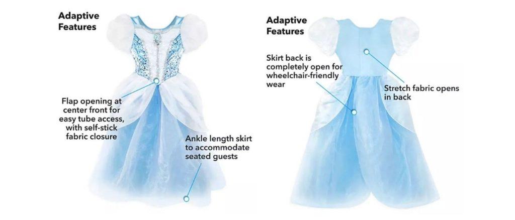 costumi per disabili di halloween cenerentola