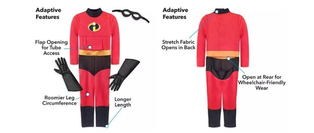 costume gli incredibili per disabili ad halloween