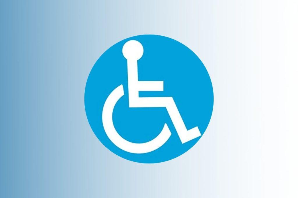 simbolo disabile