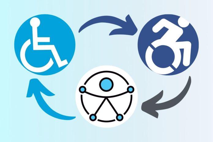storia simbolo disabile